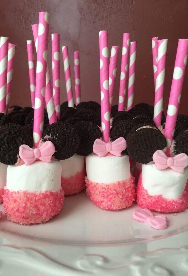 Aposte em Marshmallow na festa da Minnie