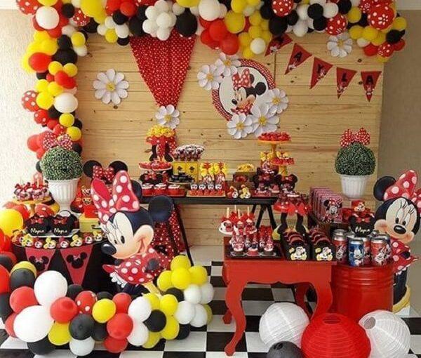 Festa da Minnie: 100 Fotos e Dicas de Decoração Para se Inspirar