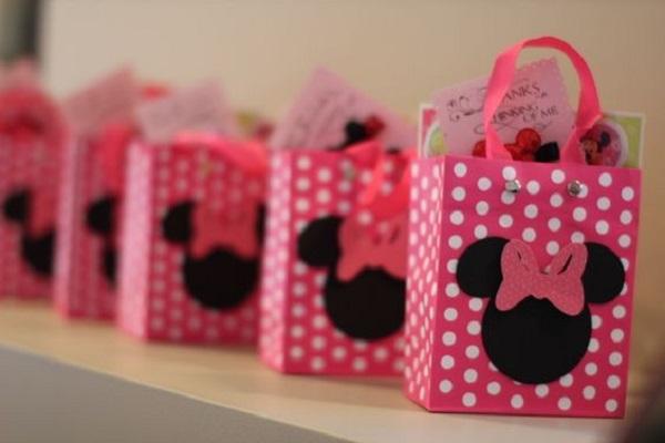 Lembrancinhas para festa da minnie rosa