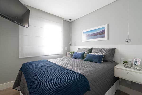 Modelos de cortinas de quarto de casal