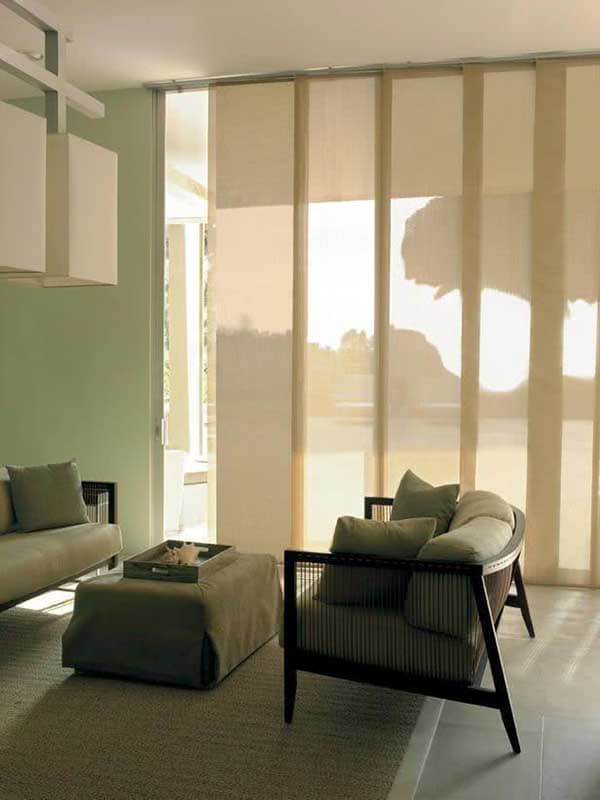 Modelos de cortinas painel
