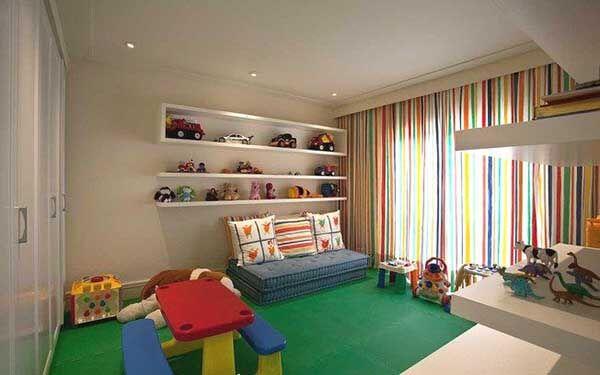 Modelos de cortinas para brinquedoteca