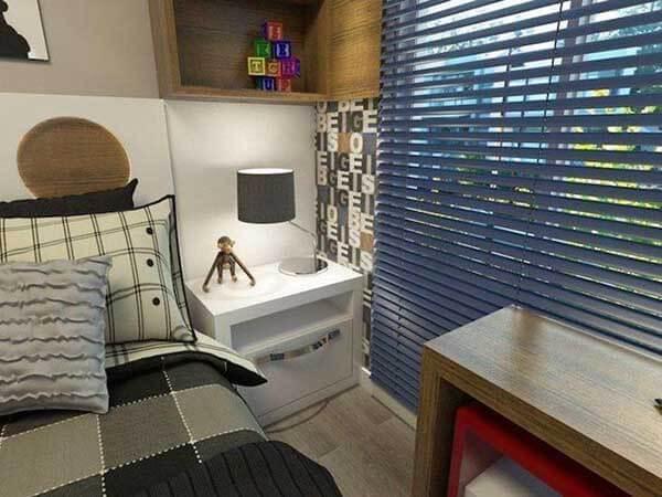 Modelos de cortinas para quarto de criança