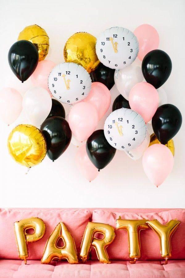 balões decorativos para festa de aniversário  Foto Dicas da Japa