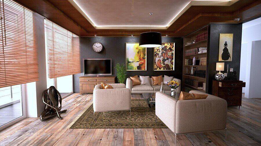 decoração clássica e sofisticada para sala em tons neutros Foto Pexels