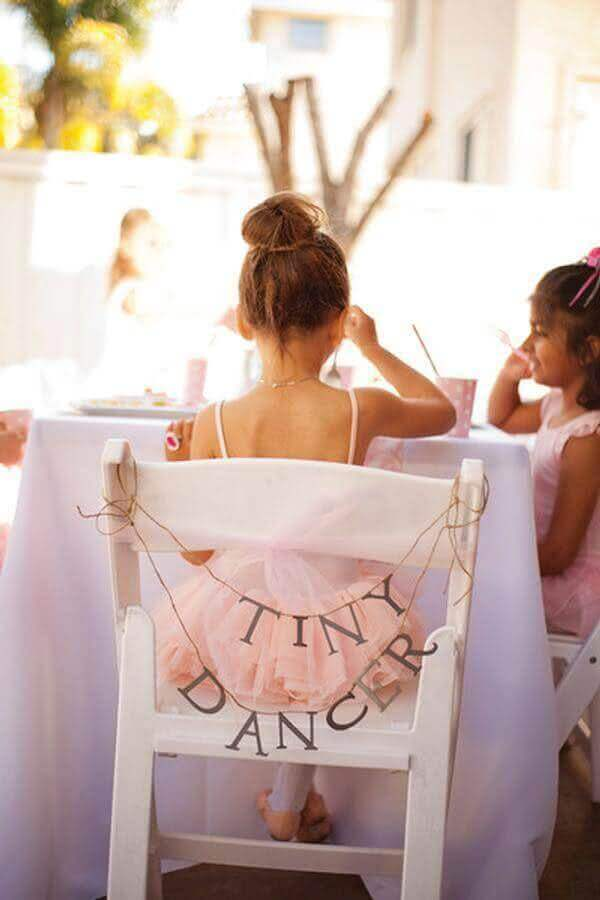 detalhes para decoração festa bailarina Foto Yelp