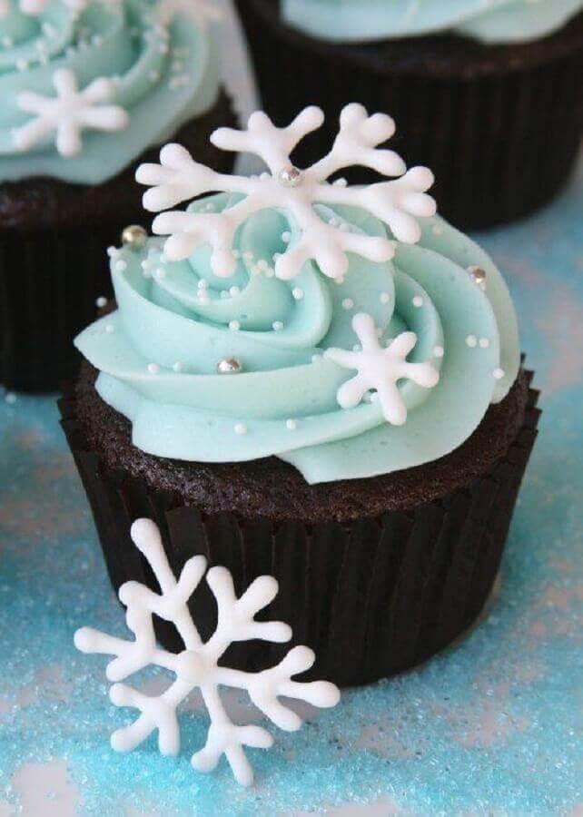 doces para festa de aniversário com tema Frozen  Foto We Heart It