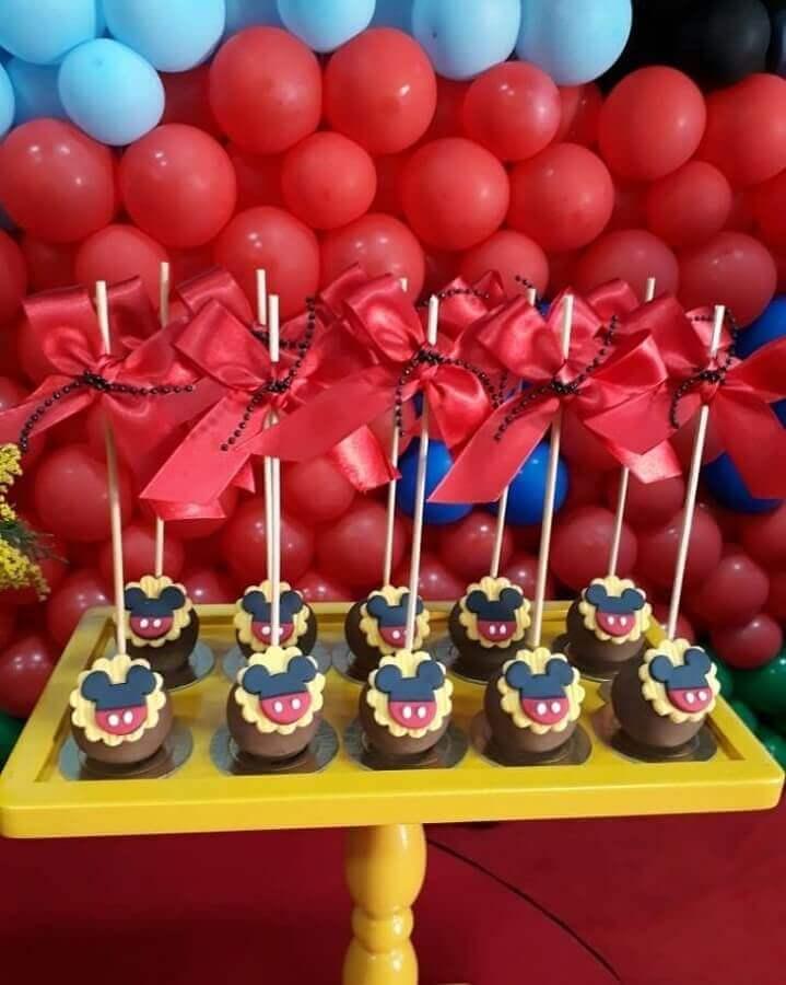 doces para festa de aniversário do Mickey Foto C3 Cupcake