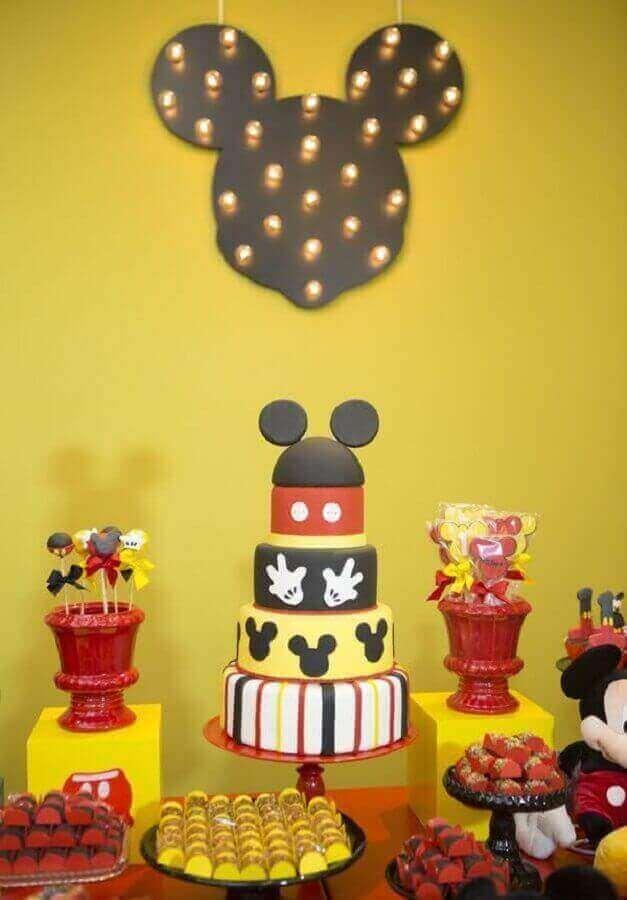 festa de aniversário do Mickey Foto 321achei