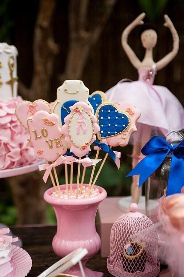 ideias de decoração para festa da bailarina Foto Aaronguide