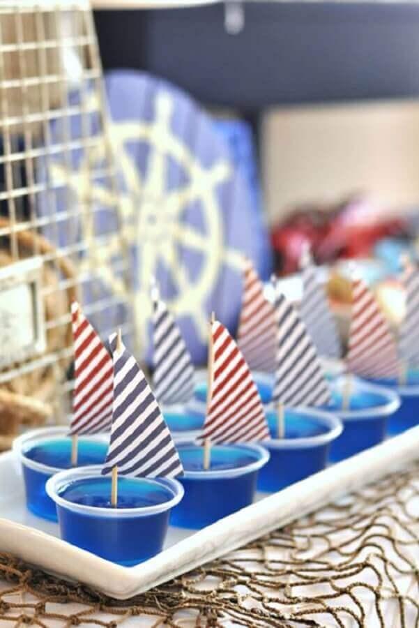 ideias para festa de aniversário com tema marinheiro  Foto Pinterest