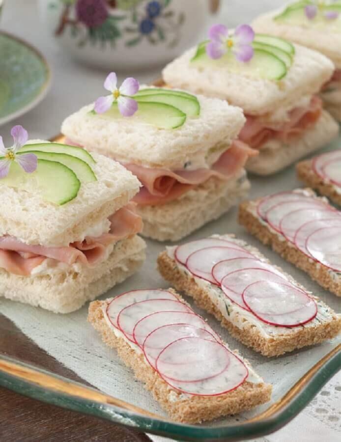 mini sanduíches de comidas pra festa de aniversário Foto Air Freshener
