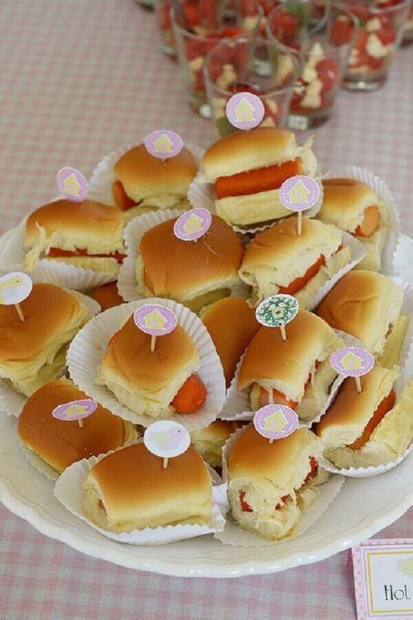 mini sanduíches para festa de aniversário  Foto Air Freshener