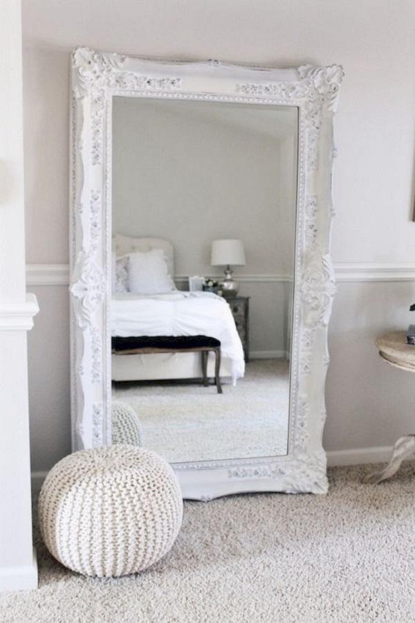 modelo de espelho provençal branco grande  Foto My Eunoia