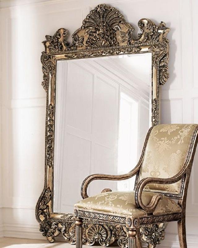 modelo de espelho provençal grande Foto Mirror Ideas