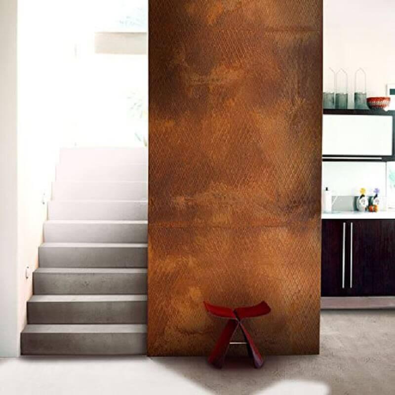 casa com chapa de aço corten  Foto ARQ DZN Arquitetura & Interiores