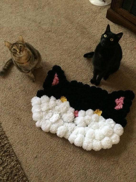 como fazer tapete de pompom at-pom-pom-pompom-rug