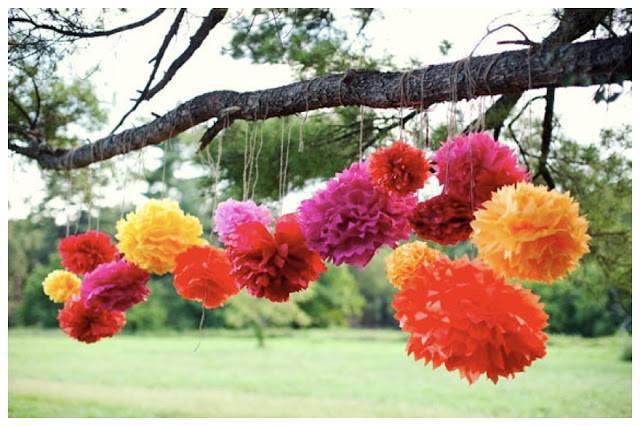 decoração de festa junina flores