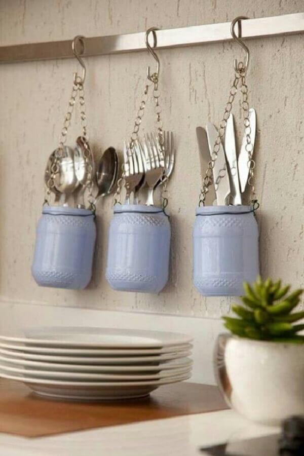 dicas de decoração barata para cozinha Foto HF Urbanismo