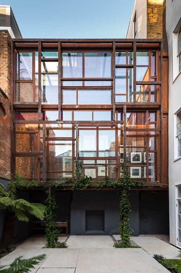 estrutura residencial em aço corten Foto Archilovers