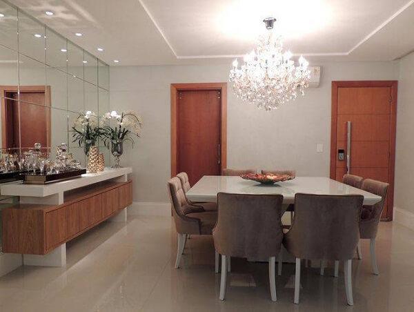 lustres para sala de jantar clássicos são muito elegantes