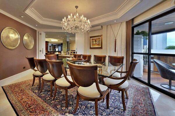 os lustres para sala devem ser proporcionais ao tamanho da sala de jantar