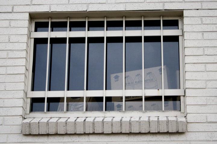 Grades para janelas de segurança