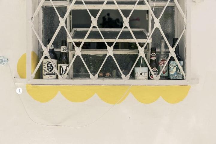 Grades para janelas em área externa Projeto de Casa Aberta