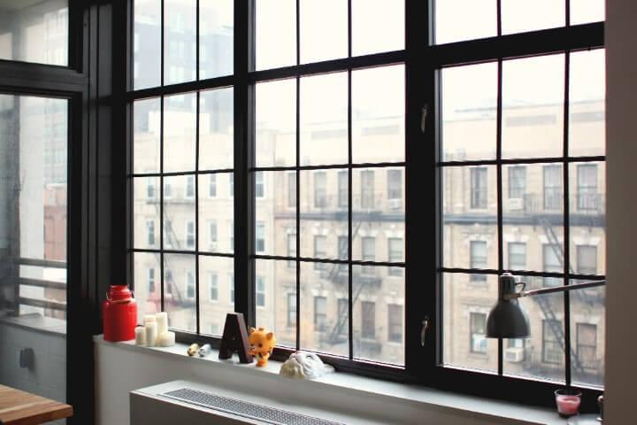 Grades para janelas em apartamento