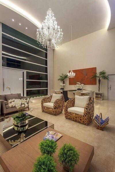 os lustres para sala complementam a decoração do ambiente