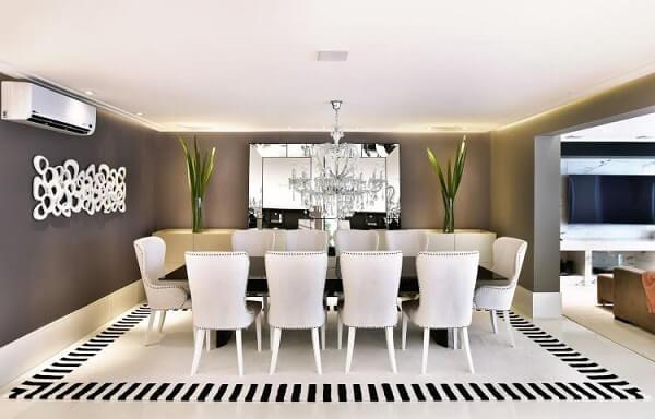 lustres para sala devem combinar com a decoração do ambiente