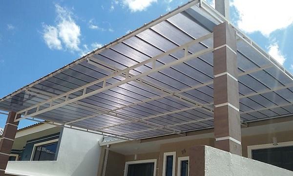 Tipos de telhas de policarbonato