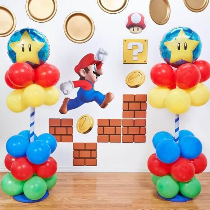 decoracao de festa infantil espaço para fotos