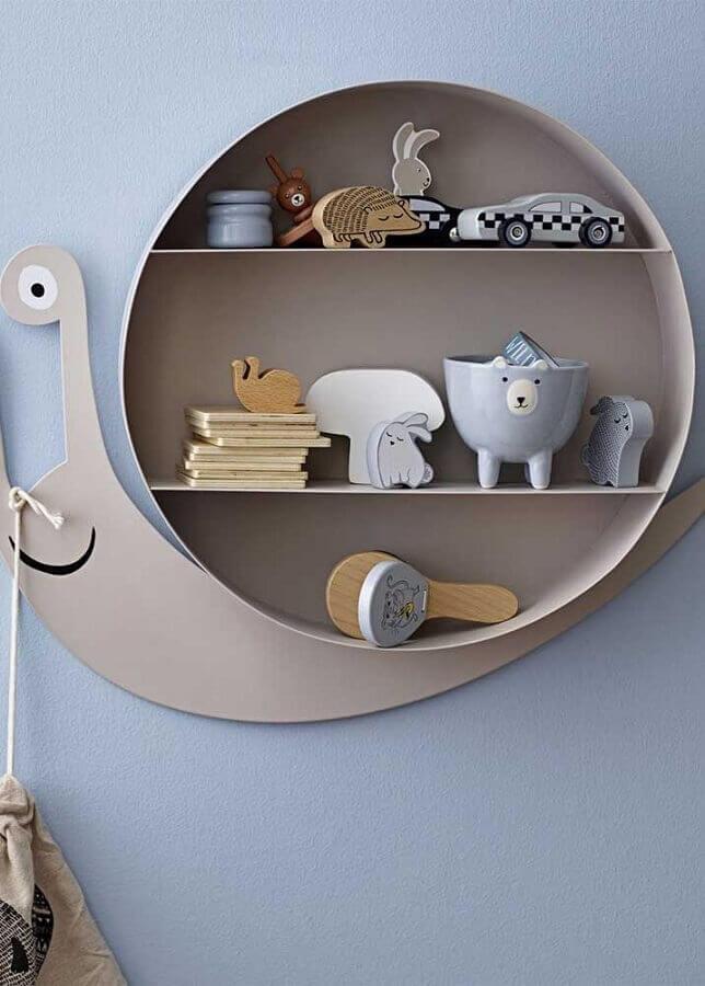 delicado nicho redondo para quarto de bebê Foto Pinterest