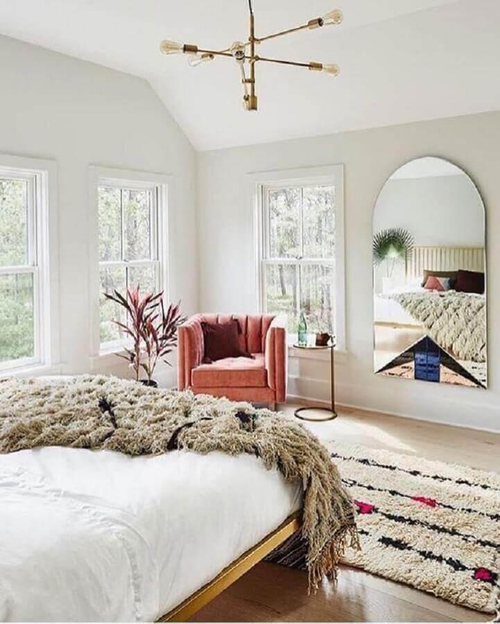 design moderno de lustre para quarto de casal Foto Design d'intérieur