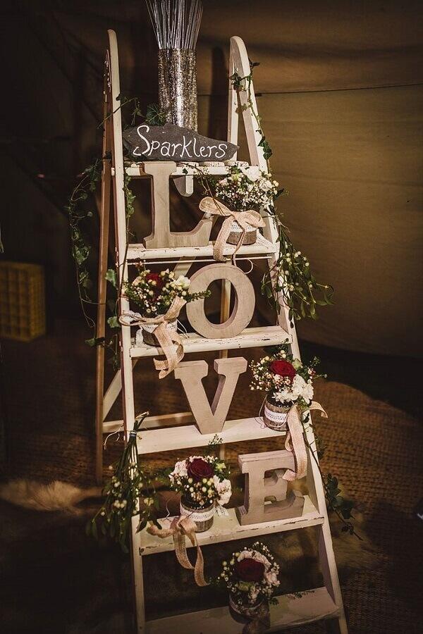 ideia de decoração bodas de pérola  Foto Zozu