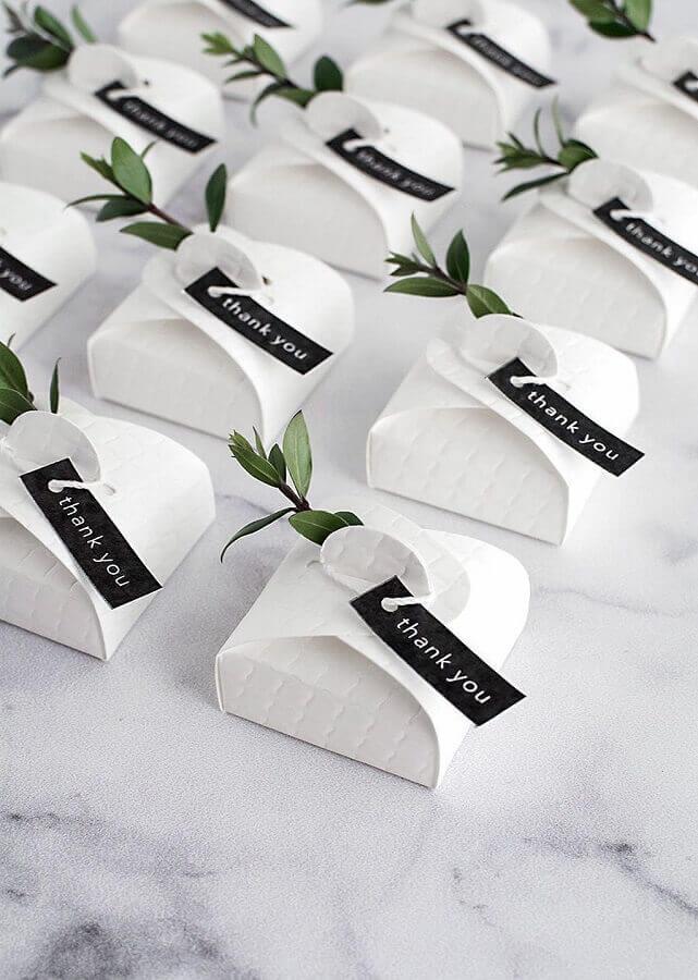 ideia de lembrancinhas para bodas de pérolas Foto Homey Oh My