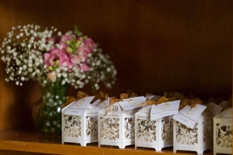 lembrancinhas para bodas de pérola Foto Casarei