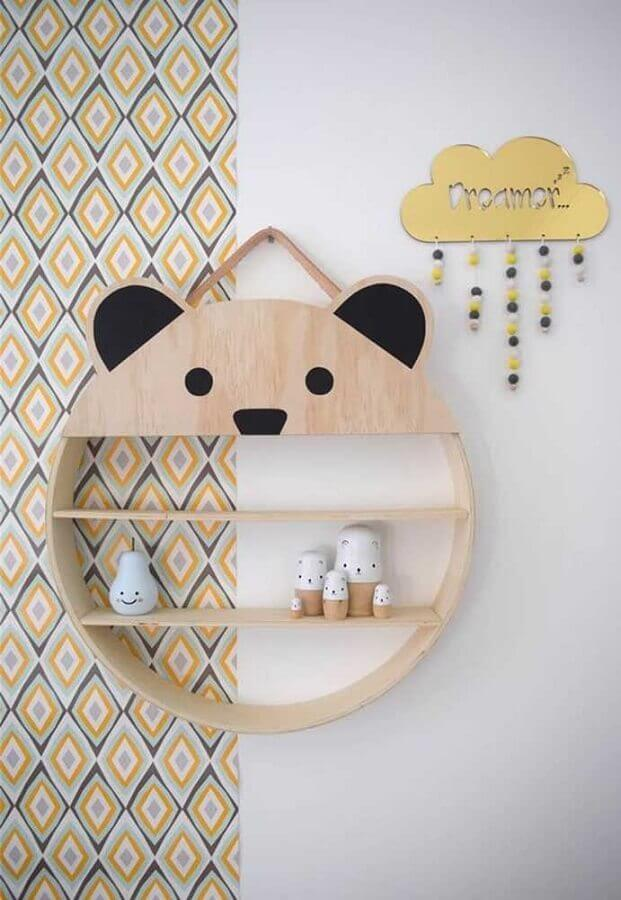 modelo de nicho redondo para quarto de bebê Foto OBSiGeN