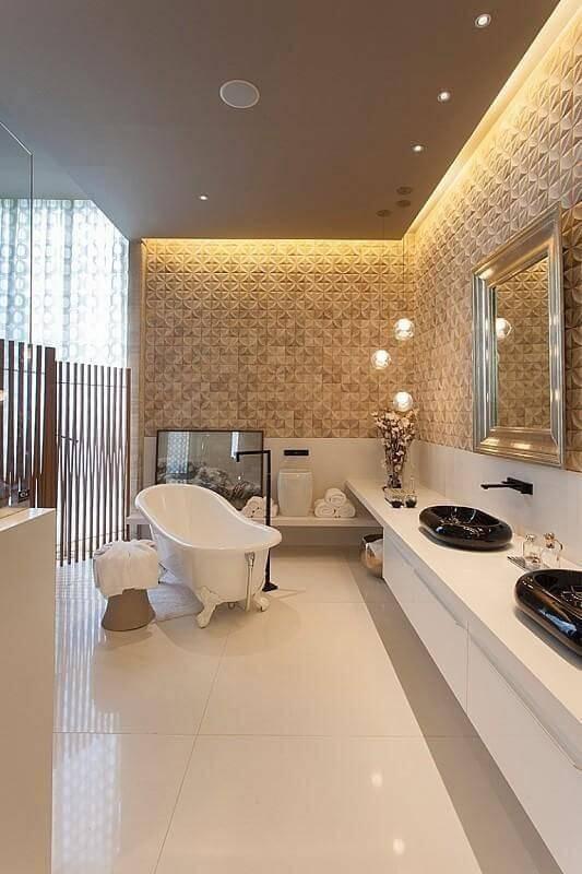 moveis planejados banheiro cubas pretas denise barretto 75881