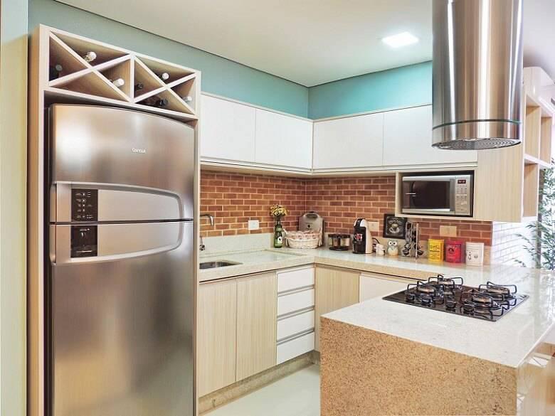 moveis planejados cozinha pequena com cooktop caroline yasmin goncalves 58585