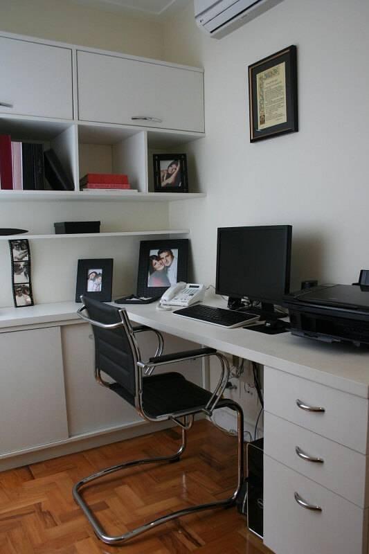 moveis planejados home office branco e preto cris paola 3301