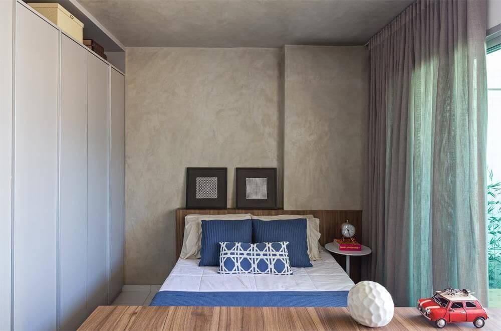 moveis planejados quarto de casal pequeno bep 7677