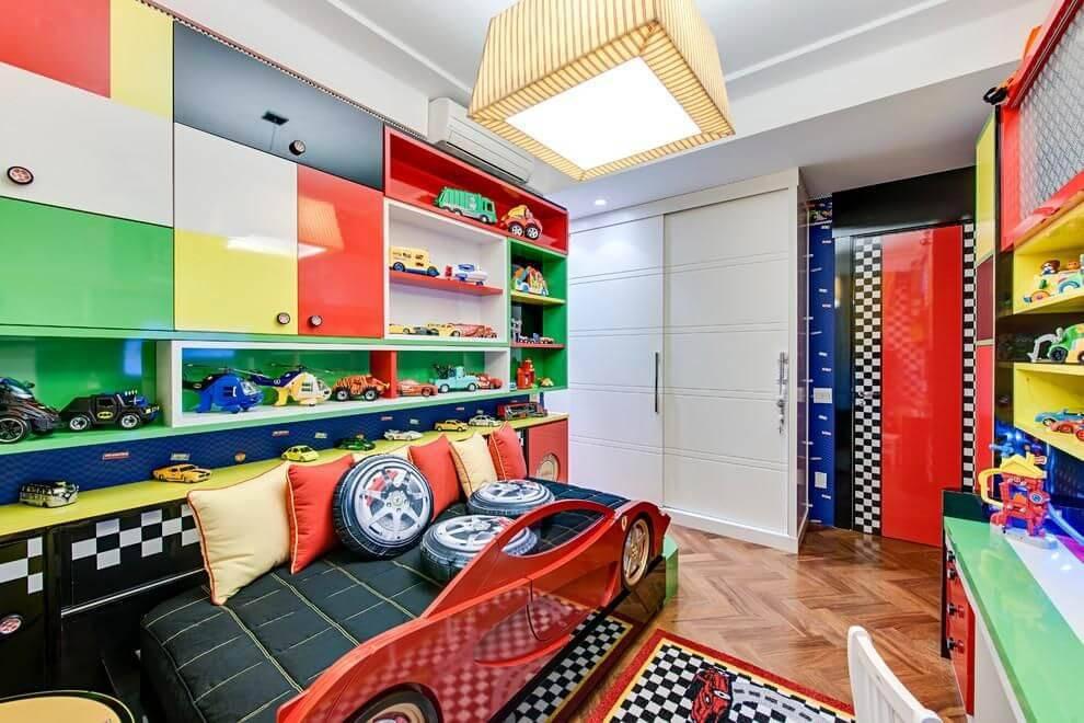 moveis planejados quarto de menino colorido andrea bento 101163