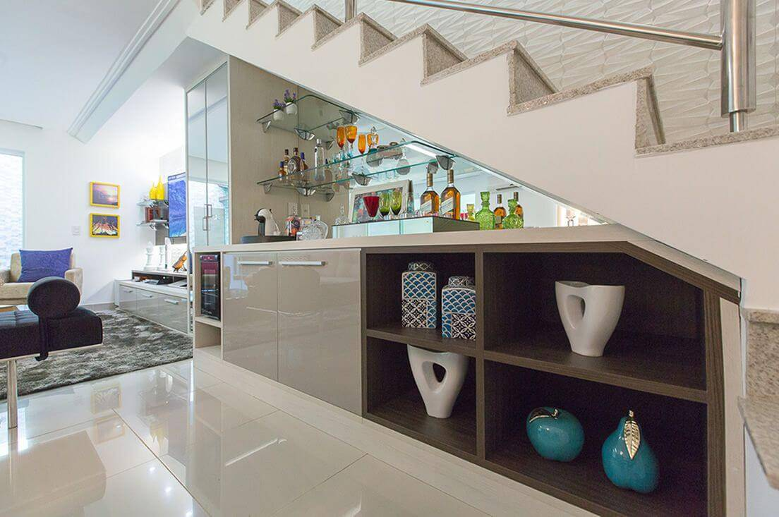 moveis planejados sala de estar escada movdecor 134097