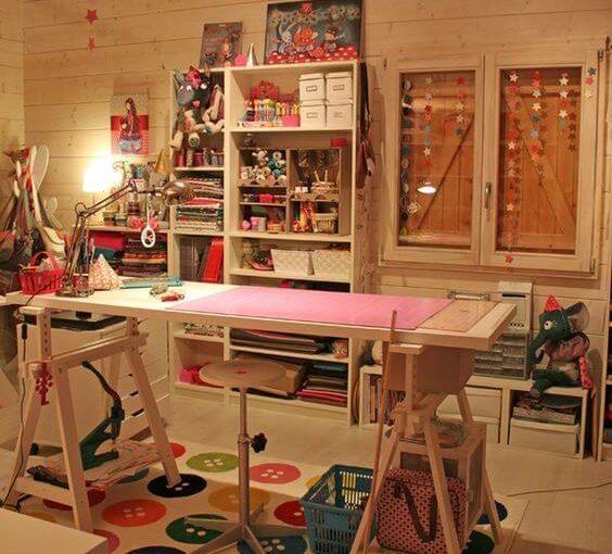 Atelier de Costura: Veja Como Montar o Seu e +60 Exemplos Lindos
