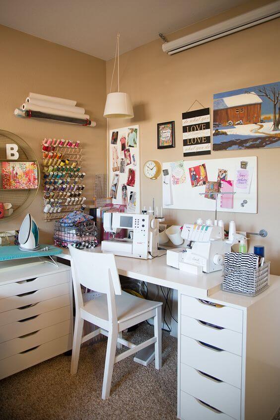 atelier de costura - ateliê simples e completo