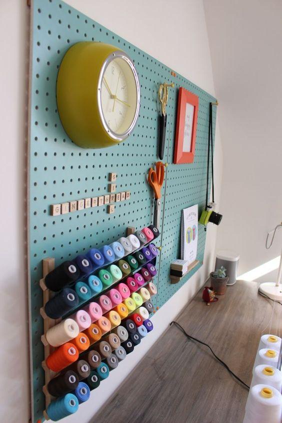 atelier de costura - painel de costura com painel
