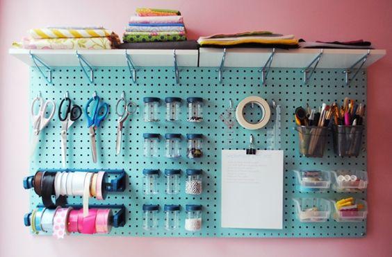 atelier de costura - painel de itens de costura