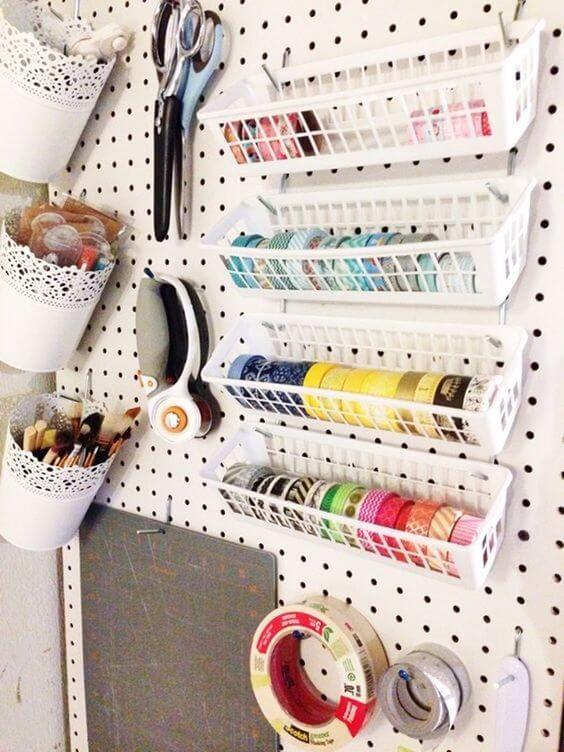 atelier de costura - painel de itens de custura